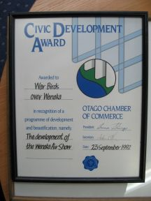 Civi Dev. Award
